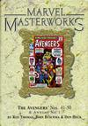 Cover for Marvel Masterworks: The Avengers (Marvel, 2003 series) #5 (54) [Limited Variant Edition]