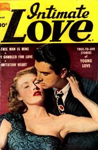 Cover Thumbnail for Intimate Love (Standard, 1950 series) #9