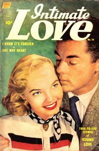 Cover Thumbnail for Intimate Love (Pines, 1950 series) #18