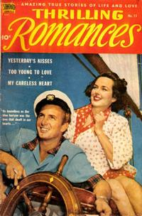 Cover Thumbnail for Thrilling Romances (Pines, 1949 series) #13