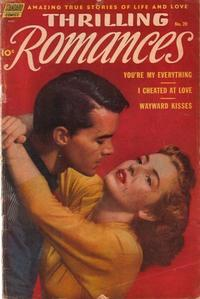 Cover Thumbnail for Thrilling Romances (Standard, 1949 series) #20