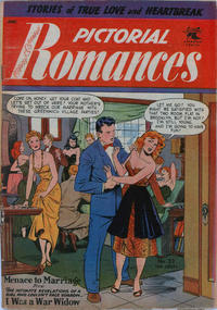 Cover Thumbnail for Pictorial Romances (St. John, 1950 series) #23