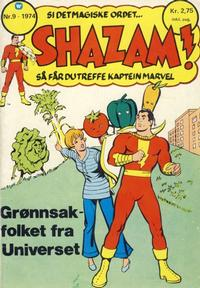 Cover Thumbnail for Shazam! (Illustrerte Klassikere / Williams Forlag, 1974 series) #9/1974