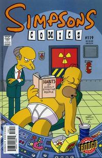Cover Thumbnail for Simpsons Comics (Bongo, 1993 series) #119