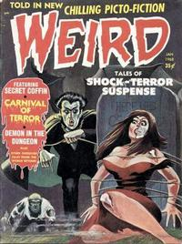 Cover Thumbnail for Weird (Eerie Publications, 1966 series) #v3#1 [v2#5]