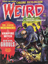 Cover Thumbnail for Weird (Eerie Publications, 1966 series) #v4#1