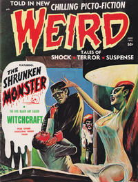 Cover Thumbnail for Weird (Eerie Publications, 1966 series) #v4#3