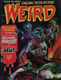 Cover Thumbnail for Weird (Eerie Publications, 1966 series) #v6#4
