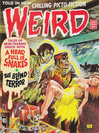Cover Thumbnail for Weird (Eerie Publications, 1966 series) #v7#5