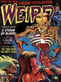 Cover Thumbnail for Weird (Eerie Publications, 1966 series) #v8#1