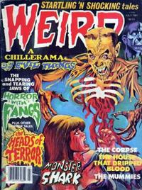 Cover Thumbnail for Weird (Eerie Publications, 1966 series) #v14#2