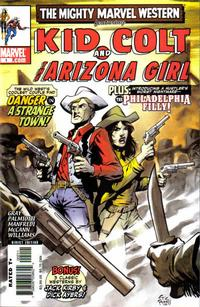 Cover Thumbnail for Marvel Westerns: Kid Colt and the Arizona Girl (Marvel, 2006 series) #1