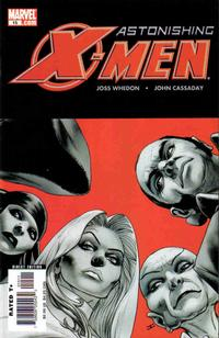 Cover Thumbnail for Astonishing X-Men (Marvel, 2004 series) #15