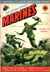 Cover Thumbnail for The United States Marines (Magazine Enterprises, 1943 series) #[1]