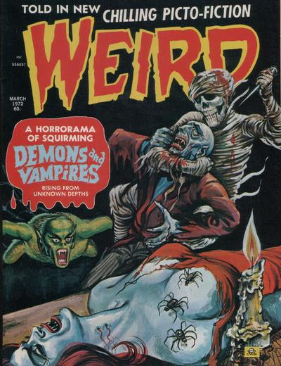 Cover for Weird (Eerie Publications, 1966 series) #v6#2