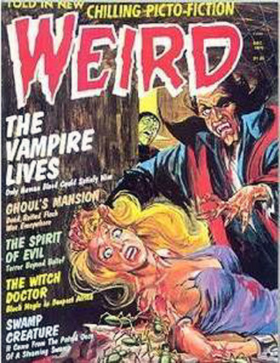 Cover for Weird (Eerie Publications, 1966 series) #v9#4