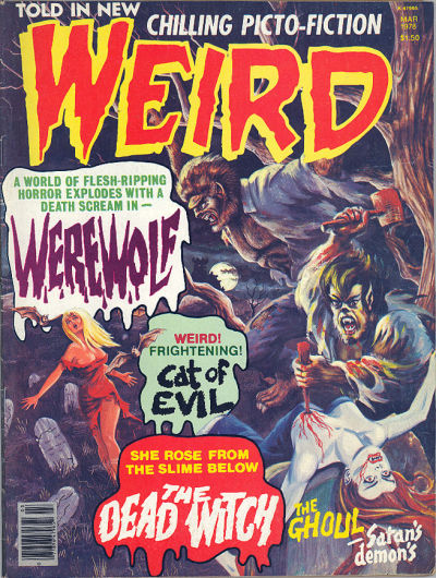 Cover for Weird (Eerie Publications, 1966 series) #v11#1