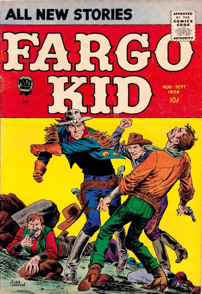 Cover for Fargo Kid (Prize, 1958 series) #v11#4