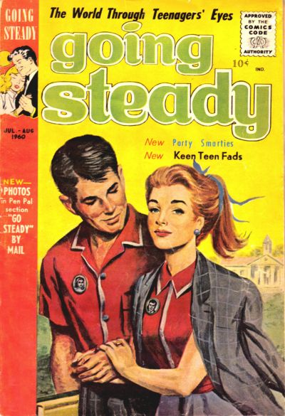 Cover for Going Steady (1960 series) #v3#6
