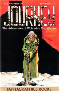 Cover Thumbnail for Journey (Fantagraphics, 1985 series) #21