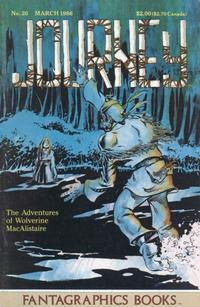Cover Thumbnail for Journey (Fantagraphics, 1985 series) #26