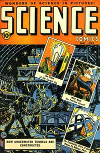 Cover Thumbnail for Science Comics (Ace Magazines, 1946 series) #3