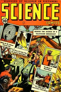 Cover Thumbnail for Science Comics (Ace Magazines, 1946 series) #4
