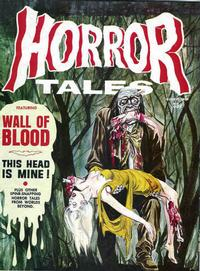 Cover for Horror Tales (Eerie Publications, 1969 series) #v1#8