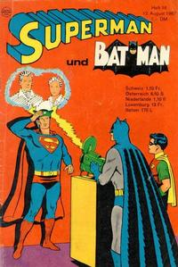 Cover Thumbnail for Superman (Egmont Ehapa, 1966 series) #16/1967