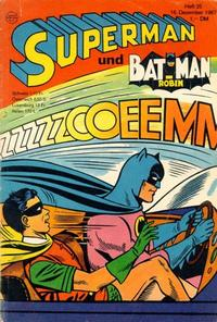 Cover Thumbnail for Superman (Egmont Ehapa, 1966 series) #25/1967