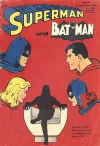 Cover Thumbnail for Superman (Egmont Ehapa, 1966 series) #23/1968