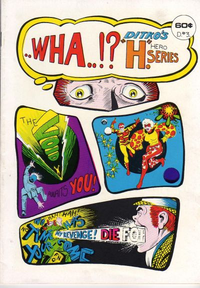 Cover for Wha !?! (Bruce Hershenson, 1975 series) #[D. 3]