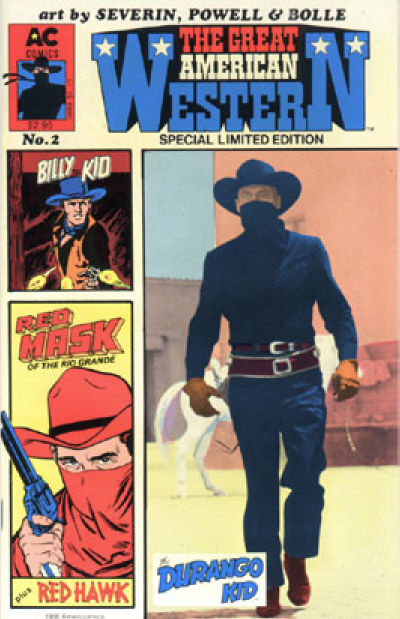 Cover for Great American Western (AC, 1987 series) #2
