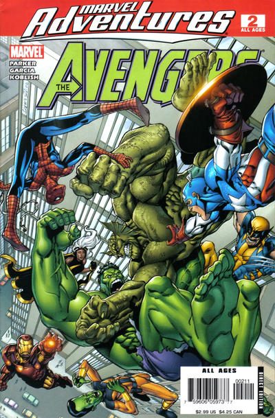Cover for Marvel Adventures The Avengers (Marvel, 2006 series) #2