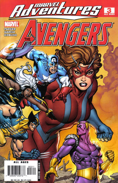 Cover for Marvel Adventures The Avengers (Marvel, 2006 series) #3
