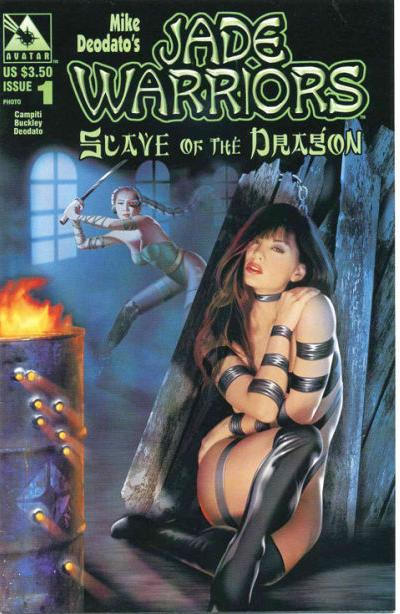 Cover for Jade Warriors: Slave of the Dragon (Avatar Press, 2001 series) #1