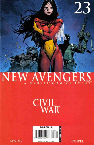 Cover for New Avengers (Marvel, 2005 series) #23 [Direct Edition]