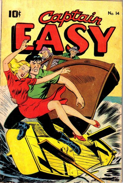Cover for Captain Easy (1947 series) #14