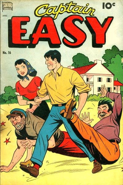 Cover for Captain Easy (Pines, 1947 series) #16