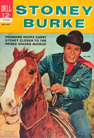 Cover for Stoney Burke (1963 series) #2