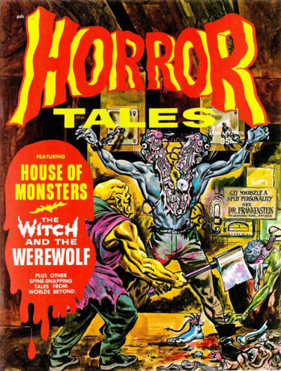 Cover for Horror Tales (Eerie Publications, 1969 series) #v2#1