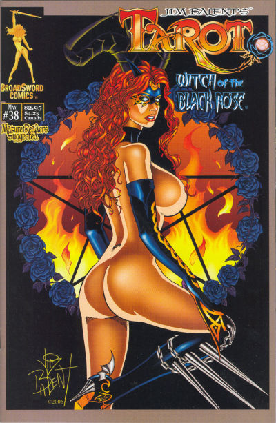 Cover for Tarot: Witch of the Black Rose (Broadsword, 2000 series) #38 [Cover B]