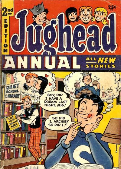 Cover for Archie's Pal Jughead Annual (Archie, 1953 series) #2