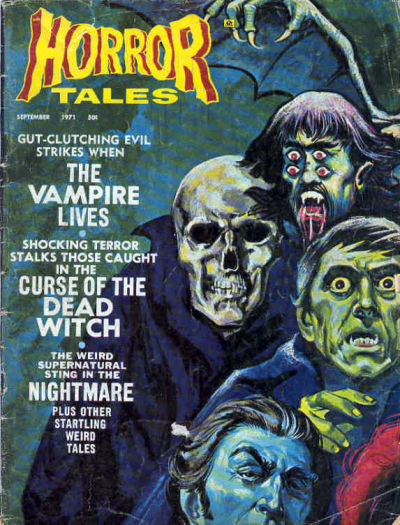 Cover for Horror Tales (Eerie Publications, 1969 series) #v3#5