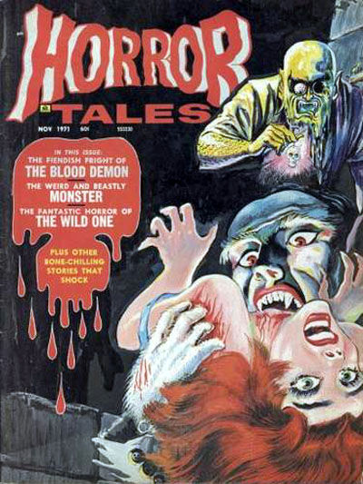 Cover for Horror Tales (Eerie Publications, 1969 series) #v3#6