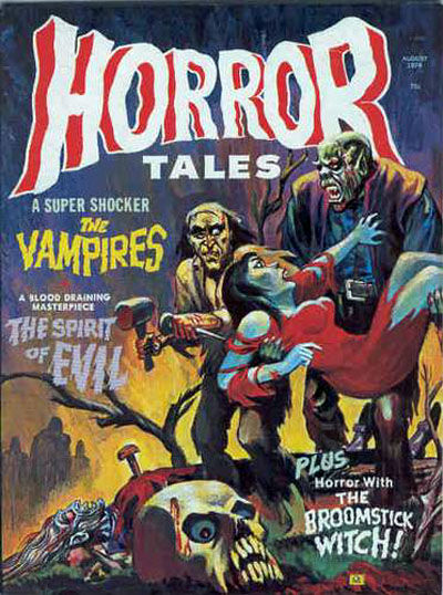 Cover for Horror Tales (Eerie Publications, 1969 series) #v6#4