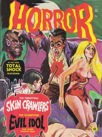 Cover for Horror Tales (Eerie Publications, 1969 series) #v6#5