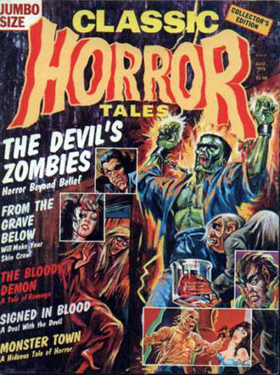 Cover for Horror Tales (Eerie Publications, 1969 series) #v7#3