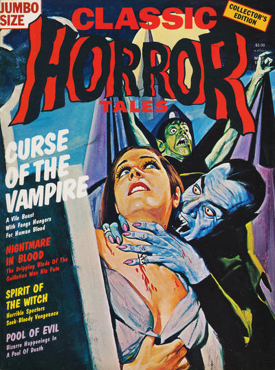 Cover for Horror Tales (Eerie Publications, 1969 series) #v8#2