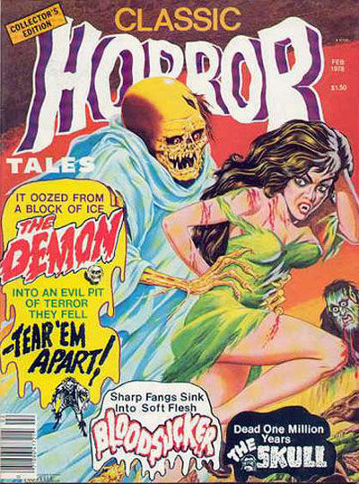 Cover for Horror Tales (Eerie Publications, 1969 series) #v9#1